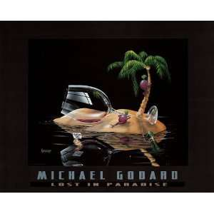 Michael Godard Novelty Humor Print 30x24 Poster: Home & Kitchen