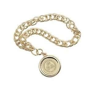 Binghamton   Charm Bracelet   Gold