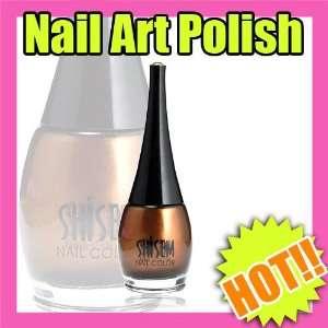 profession nail art acrylic gel polish color gold 144