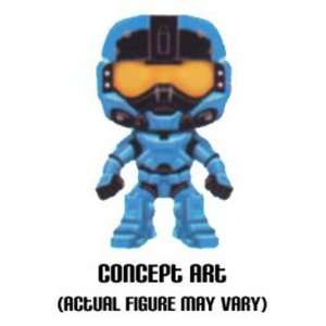 Pop Halo Reach Carter Blue Spartan Vinyl Figure