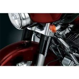 Gloss Black Upper Fork Slider Covers For Harley Davidson Automotive