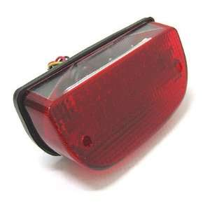 BKRider Fat Bob Style LED Taillight For Harley Davidson Automotive