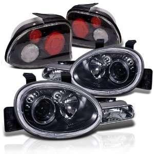 1999 Dodge Neon Halo Projector Head Lights+tail Lights Automotive