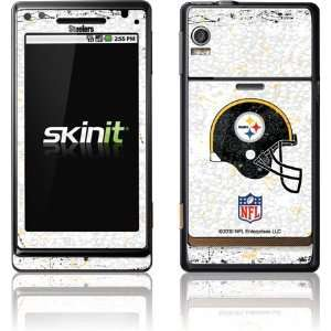 Pittsburgh Steelers   Helmet skin for Motorola Droid