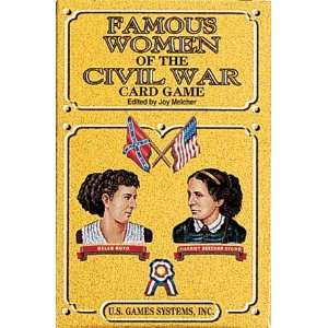 Famous Women of e Civil War Playing Cards