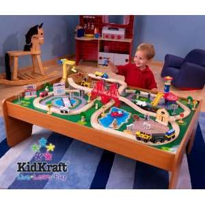 Ride Around Town Train Set with Table   Kidkraft 17836