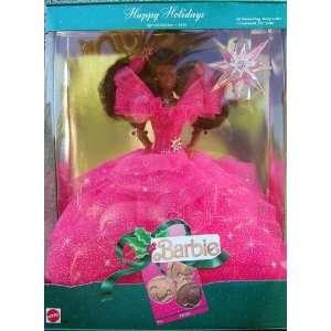 Holidays Special Ediion 1990 African American Barbie Doll oys