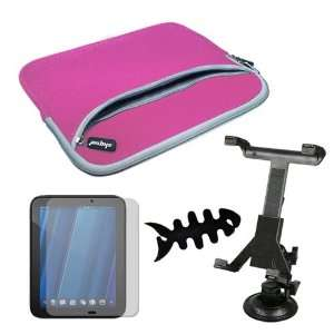 Dual Pocket Carrying Case for HP Touchpad 9.7 Tablet Electronics