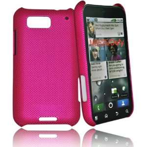 mobile palace  Hot Pink Hybrid Skin Case Cover For