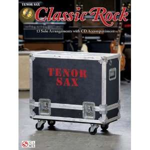 Classic Rock: Tenor Sax (Instrumental) (9781603782203