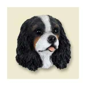 Cavalier King Charles Spaniel Dog Magnet   Tri Color: