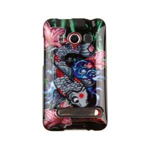 Cover Case Protex Koi Fish For HTC EVO 4G Cell Phones & Accessories