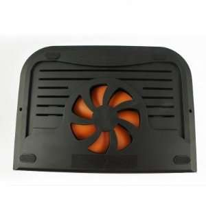Powerful Mini USB Notebook Fan Cooler Pad JM 20936   Black