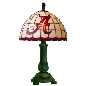 Alabama Crimson Tide Stained Glass Accent Lamp