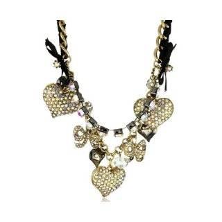 Betsey Johnson Iconic Cupids Arrow Charm Necklace Jewelry