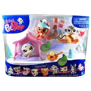 Littlest Pet Shop Sportiest Series 3 Pack Bobble Head Pet