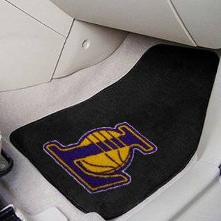 NBA Los Angeles Lakers Car Floor Mats Heavy Duty 4 Piece Vinyl   Front