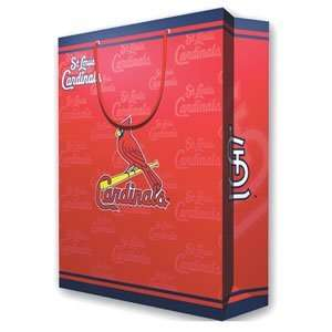 Saint Louis Cardinals MLB Large Gift Bag (15.5 Tall