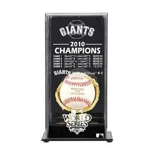 Mounted Memories San Francisco Giants 2010 World Series