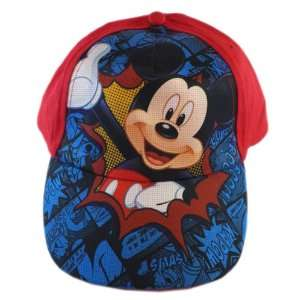 Mickey Mouse Baseball Hat   Disney Hat For Boys (Red