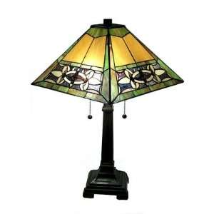 Mission Green Table Lamp