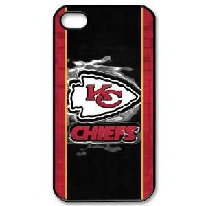 Designed iPhone 4/4s Hard Cases Chiefs team logo Cell
