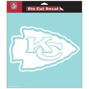 NFL Kansas City Chiefs 8 X 8 Die Cut Decal  Sports