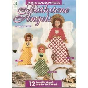 Birthstone Angels Plastic Canvas Patterns JOan Green Books