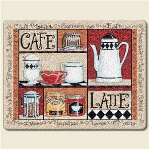 Cafe Latte Cutting Board By Absorbastone