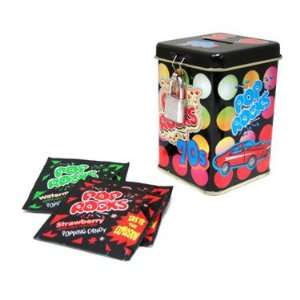 Pop Rocks   Strawberry and Watermelon, 70s Retro Tin, 8 count