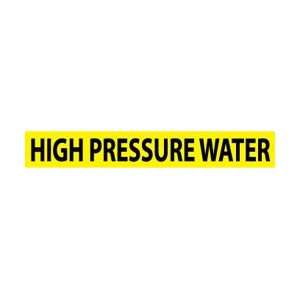 C1291G   Pipe Marker, Pressure Sensitive Vinyl, High Pressure