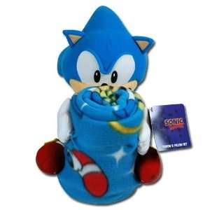 Sega Sonic The Hedgehog Large Plush Doll Pillow Buddy and