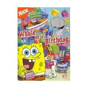 SPONGEBOB SQUAREPANTSWHALE OF A BIRTHDAY Everything Else