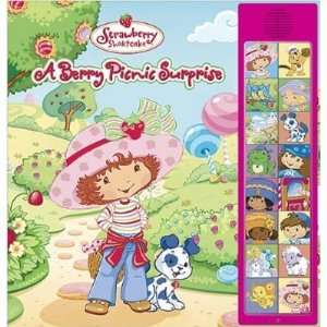 Strawberry Shortcake A Berry Picnic Suprise Deluxe Sound Book