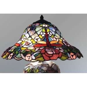 Tiffany Style Stained Glass Table Lamp VL506: Home