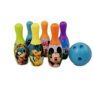 Disney Mickey Mouse 6 Piece Indoor / Outdoor Bowling Set Toys & Games