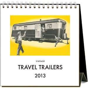 Travel Trailers 2013 Easel Desk Calendar: Office Products