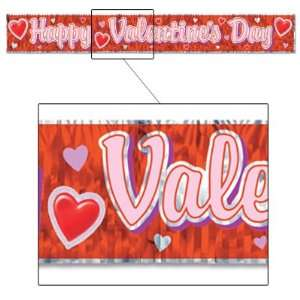 Happy Valentines Day Fringe Banner  Pack of 12