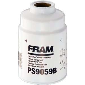FRAM PS9059B Spin On Fuel and Water Separator Filter Automotive
