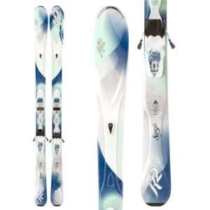 K2 SuperIfic Skis + Marker ER3 10.0 Bindings   Womens