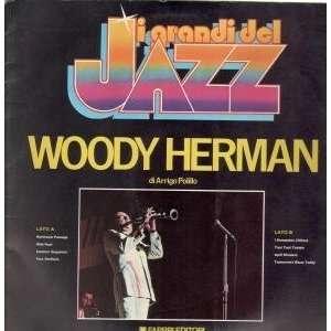 I GRANDI DEL JAZZ LP (VINYL) ITALIAN CBS WOODY HERMAN Music