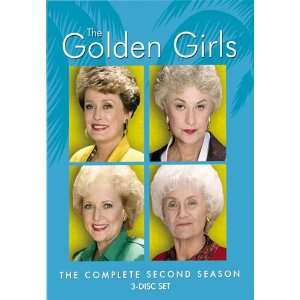 The Golden Girls   The Complete Second Season Betty White