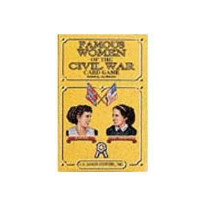 Famous Women of e Civil War Playing Cards Toys & Games