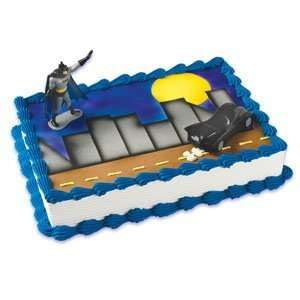 Batman Cakes   Batman & Batmobile Licensed Re usable Toppers: