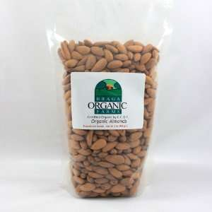 Braga Organic Farms Organic Roasted and Salted Almonds 2 lb. bag