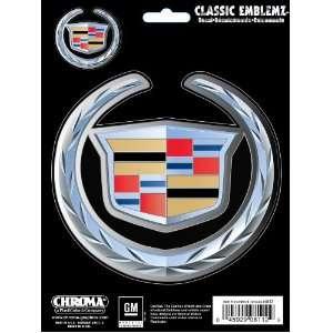2PC Decal Sticker Emblem   Cadillac Logo Automotive