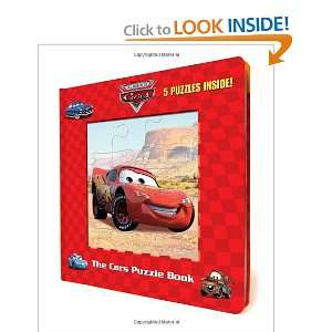 Cars Puzzle Book (Disney/Pixar Cars) (9780736425681) RH
