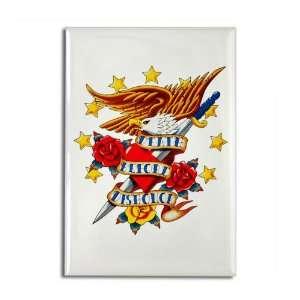 : Rectangle Magnet Bald Eagle Death Before Dishonor: Everything Else