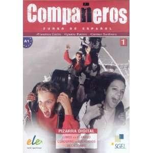 Companeros. Curso de espanol. 1 (A1) Pizarra digital (Libro del alumno