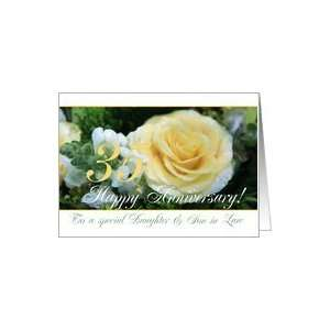 35th Wedding Anniversary card for Daughter and Son in law